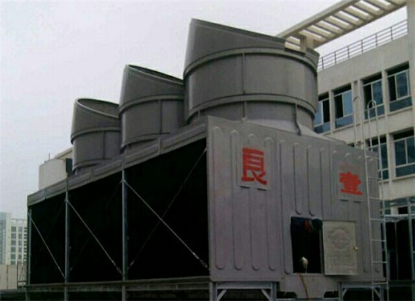方型横流式消音塔